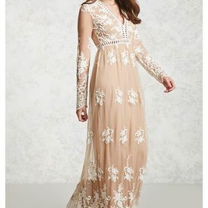 Forever 21 For Love and Lemons maxi Dupe